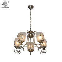 New Europe Style Pendant Lamp For Bedroom Living Room Retro Lights 6 8 Heads Home Lighting