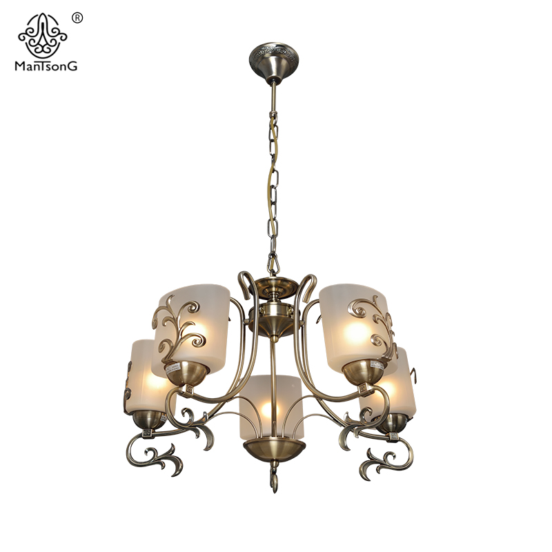 New Europe Style Pendant Lamp for Bedroom Living Room Retro Lights 5/8 Heads Home Lighting Vintage Glass Pendant Lamps Luminaire 3 heads pendant lamps dining room glass pendant light living room lights bedroom pendant lamps iron lamp fg552