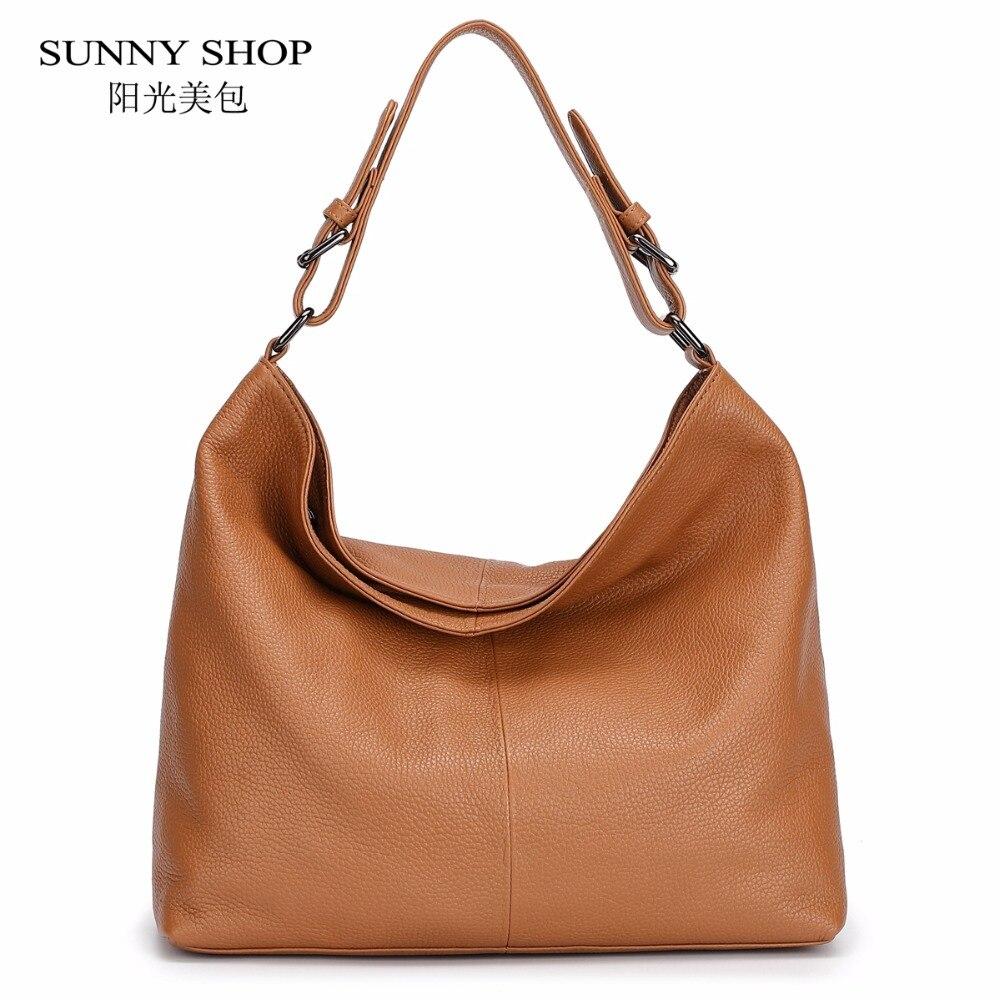 100% Luxus Echtem Leder Taschen Für Frauen Full Grain Leder Schulter Taschen Weiche Echt Original Natürliche Leder Haut Handtasche Ol