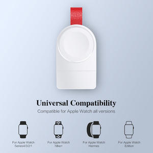 Image 4 - FLOVEME Wireless Charger for Apple Watch 4 Charger Magnetic Wireless Charging USB Charger for Apple Watch 4 3 2 1 Portable