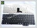 Tamanho longo teclado para samsung r519 np-r519 preto sp teclado espanhol teclado com teclado numérico