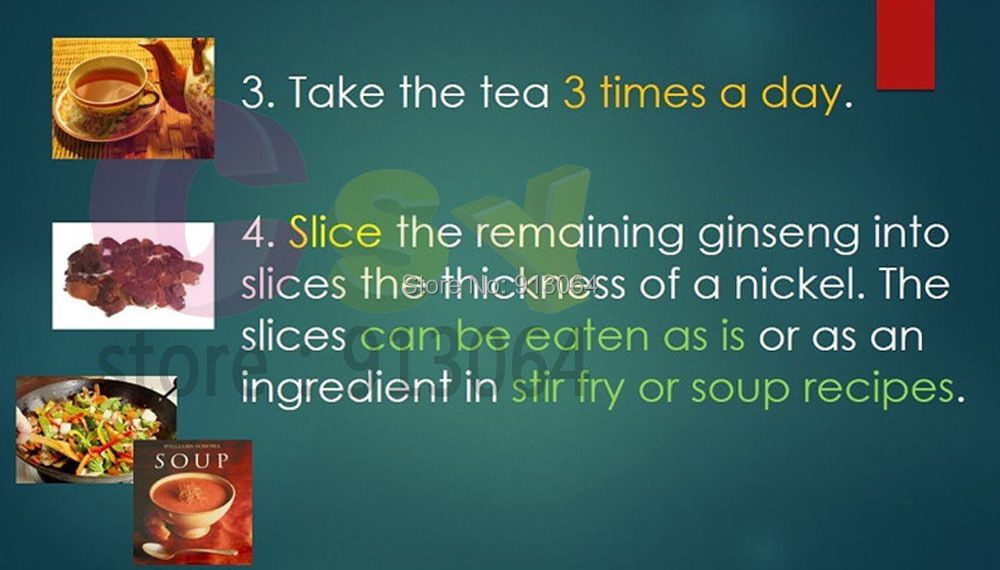 ginseng instruction2
