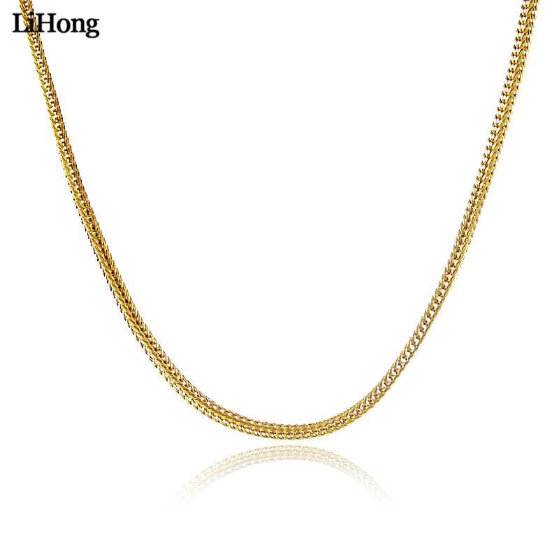 24k Gold Color Keel Chain...