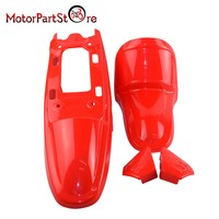 Plastic Body Fender Cover Shell Parts Kit For YAMAHA PW50 PY50 PW PY 50 PEEWEE Mini