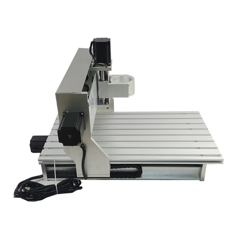 Mini CNC métal machine de découpe cadre 3040 bois routeur avec fin de course et vis à billes adapté bricolage PCB fraisage - 5