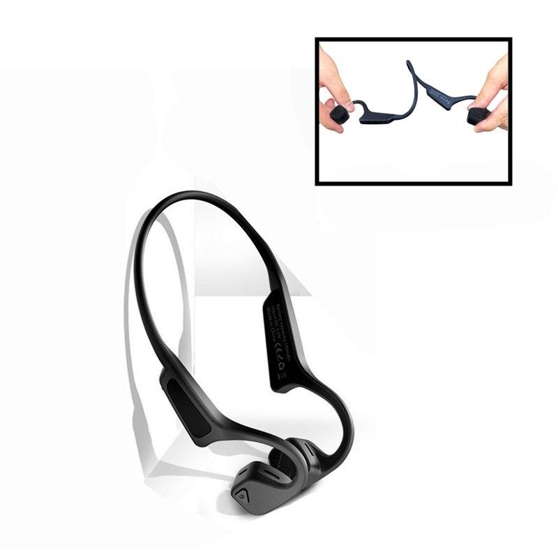 Gym Headset Oordopje Beengeleiding Oortelefoon Voor Xiaomi Huawei Auto Draver iPhone Samsung Oordopjes Bluetooth Draadloze Hoofdtelefoon Mannen