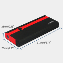INSMA 99900mAh 12V Car Jump Starter Booster Portable USB Charger Auto Power Bank Pack Emergency Battery Jumper Survival Kit