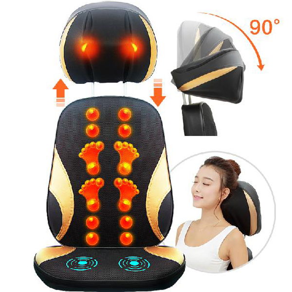 Neck Rest Massage Cushion Multi-purpose Massage Pad with Heating Function Free Shipping раскладушка therm a rest therm a rest luxurylite mesh xl