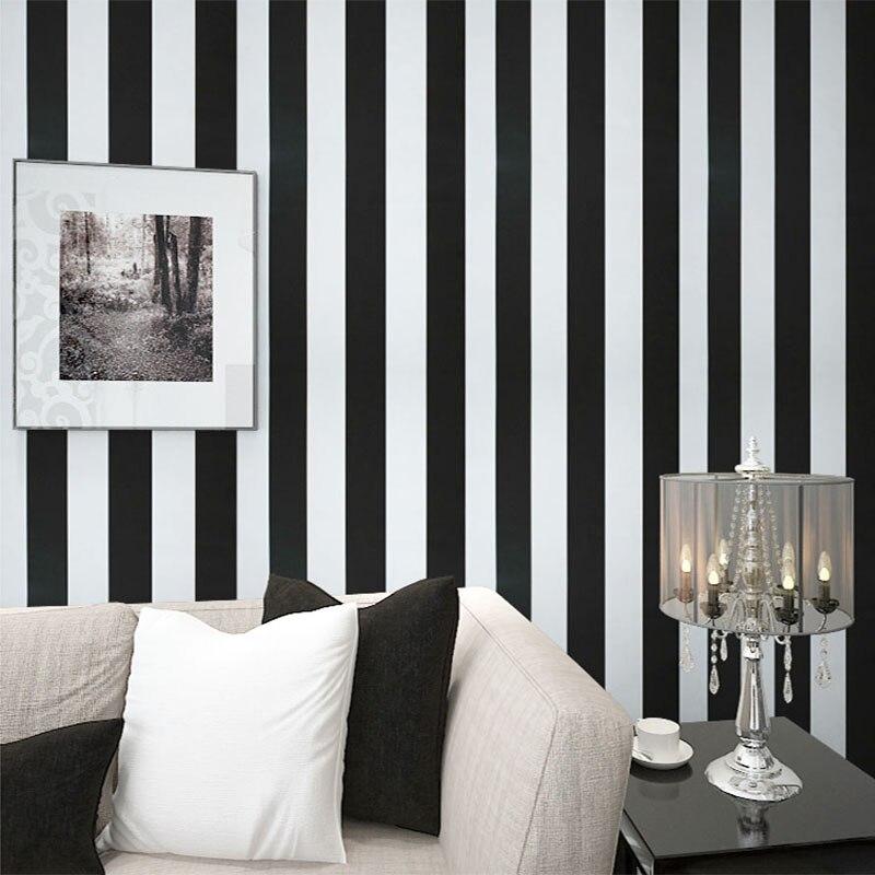 Buy Modern Stripes Simple Wallpaper Living Room Office Home Decor Wallpaper Fashionable Interior Design 3D Room Landscape Wall Paper