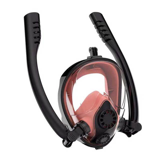 2020 New Diving Mask Scuba Mask Underwater Anti Fog Full Face Snorkeling Mask Women Men Kids Swimming Snorkel Diving Equipment 4