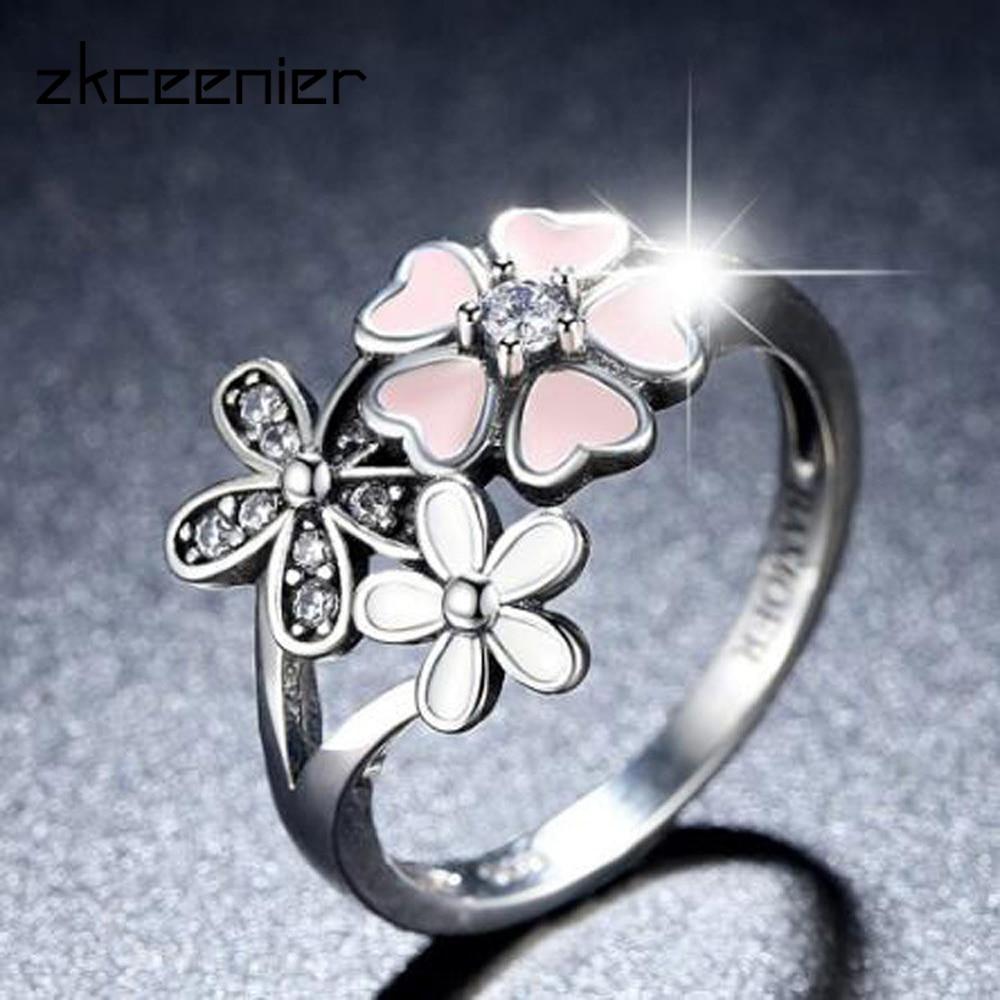 Buy Pandora Flower Ring And Get Free Shipping On Aliexpress