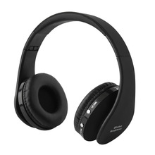 Foldable Wireless Bluetooth Headset Stereo Over Ear Headphone Earphone fone de ouvido For xiaomi For cellphone