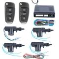Em estoque! Qualidade Universal controle remoto sistema de travamento da porta central 4 portas 1 3 com o costume virar controle remoto chave de controle