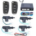 In stock! Universal Quality remote control central door locking system 4 doors 1 control 3 with custom flip key remote control