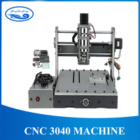 DIY CNC 3040 3 Axis 4 Axis USB Port 300W Wood Milling Router Machine wood lathe / Engraving machine work area: 30*40cm