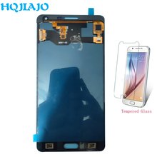 Тесты lcd-экраны для A7 A700F отрегулировать Яркость ЖК-дисплей Дисплей Сенсорный экран планшета для Samsung Galaxy A7 2015 A700 A7000 A700K