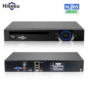 Image 1 - Hiseeu H.265 2HDD 32CH CCTV NVR 960P 1080P 3M 5M DVR 네트워크 비디오 레코더 Onvif 2.0 IP 카메라 2 SATA XMEYE P2P 클라우드