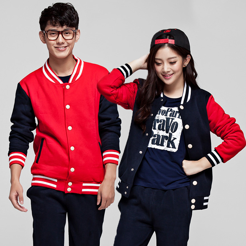 2019 Autumn And Winter New Couples Baseball Uniforms Korean Couple Sweater Men Women Students Baseball Shirt Jacket Hip Hop SA-8
