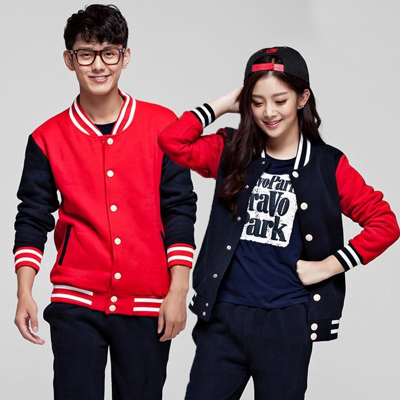 2019 Autumn And Winter New Couples Baseball Uniforms Korean Couple Sweater Men Women Students Baseball Shirt Jacket Hip Hop SA-8