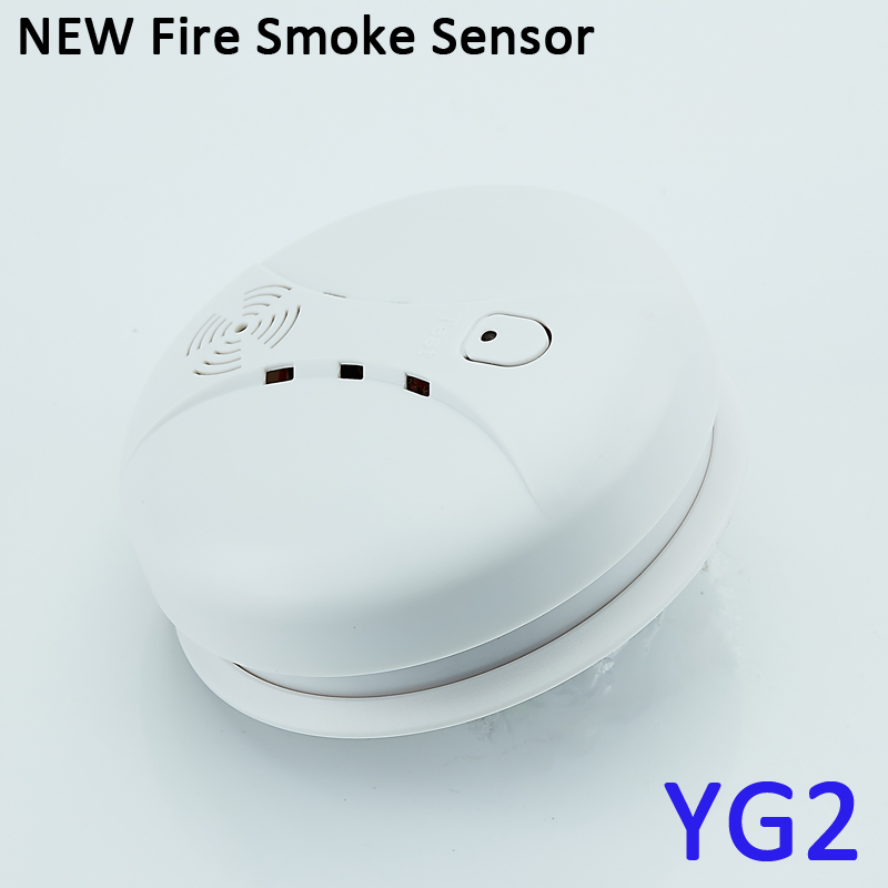 Wireless Smoke Detector and Fire sensor for Fire Protection at Office and Home with Alarm Systems 1