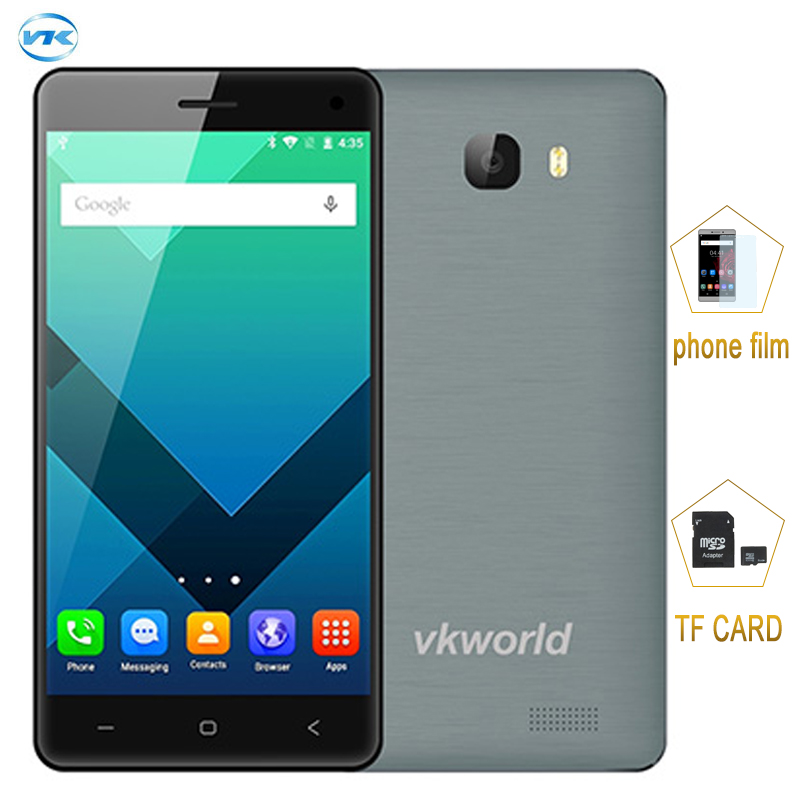 3G Original Smartphone VKworld T5 2GB 16GB 5 inch Android 5 1 MTK6580 Quad Core 1