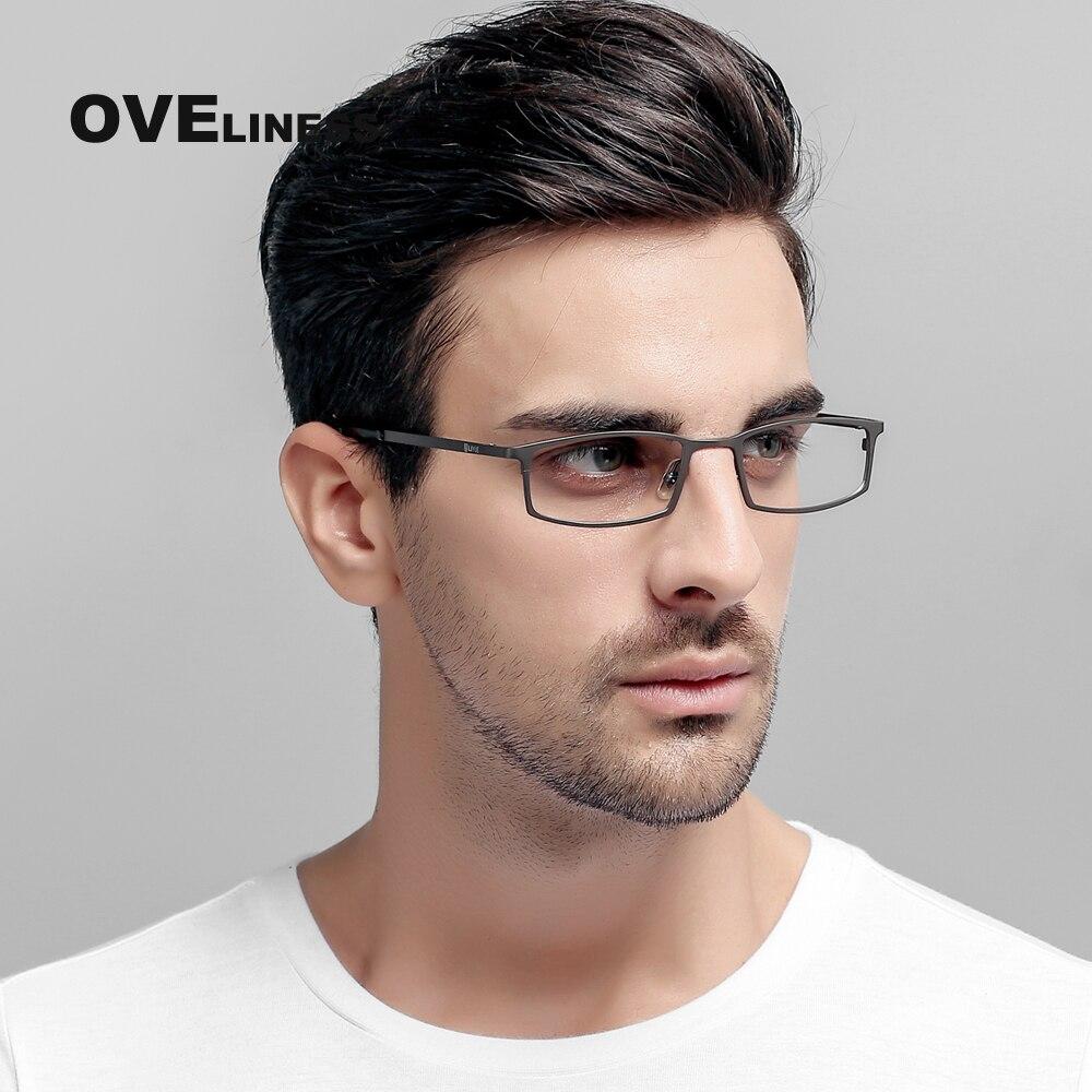 Business titan brillen frames männer vollrand optische gläser myopie ...