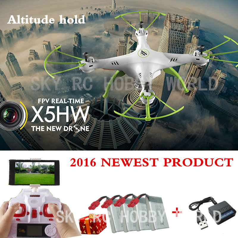 Original SYMA X5HW 4CH 2 4CH Rc Quadcopter Drone Helicopter Wifi Camera Transmission With Altitude High