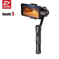 Zhiyun Smooth 3 3 axis Handheld Gimbal Stabilizer Handwheel Adjustment Brushless Camera Stabilizer