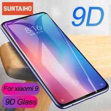 Suntaiho 9D Full Cover Tempered Glass For Xiaomi mi9 mi8 mi A2 Lite Redmi 4X screen protector Protective film For Redmi note 7