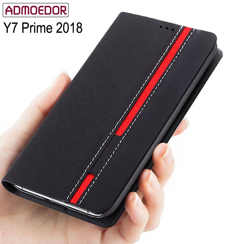 huawei y7 prime 2018 Case Ultra thin Leather flip cover for huawei y7 pro 2018 back cases Wallet Style Stand