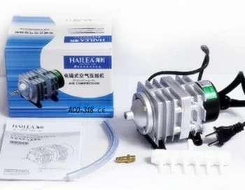 NEW Free shipping Hailea ACO-318 Electromagnetic Aquarium Air Compressor Pump 70L/min 220V 35W 0.025 Mpa min AC 220-240V