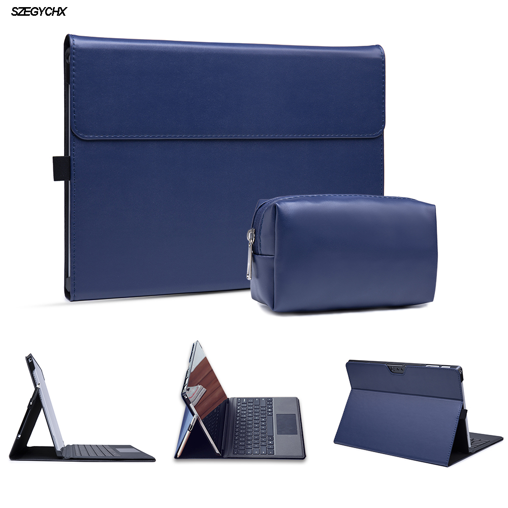 PU Leather Laptop Case for Microsoft Surface Pro 6 cover