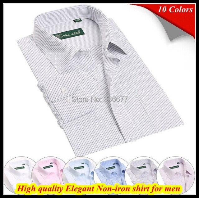 Европейский рубашка размер XS-XXXXXL fit длинный рукав 38 - 45 марка добби платье рубашка для мужчины QR-1373