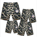 2016 quality summer shorts hot pants family look sets cotton shorts for boys girls women men beach sport shorts 5 colors casual