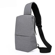 Casual Chest Pack Portable Travel Sling Shoulder Bag Messenger Bags Men Women Crossbody Bags for Ipad Phone Bolsa