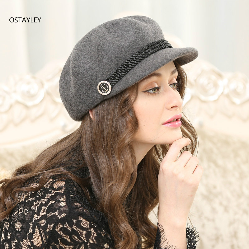 d3647ba6fb5a25 ⊹ Popular quality wool fashion hat and get free shipping - List ...