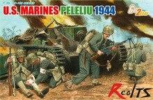 RealTS Dragon 6554 1 35 US Marines Peleliu 44 4 Figures