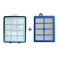 1x austrittsöffnungen filter + 1x Intake Vents HEPA-Filter für Ersatz philips FC8760 FC8761 FC8764 FC8766 FC8767 FC9712 FC9714