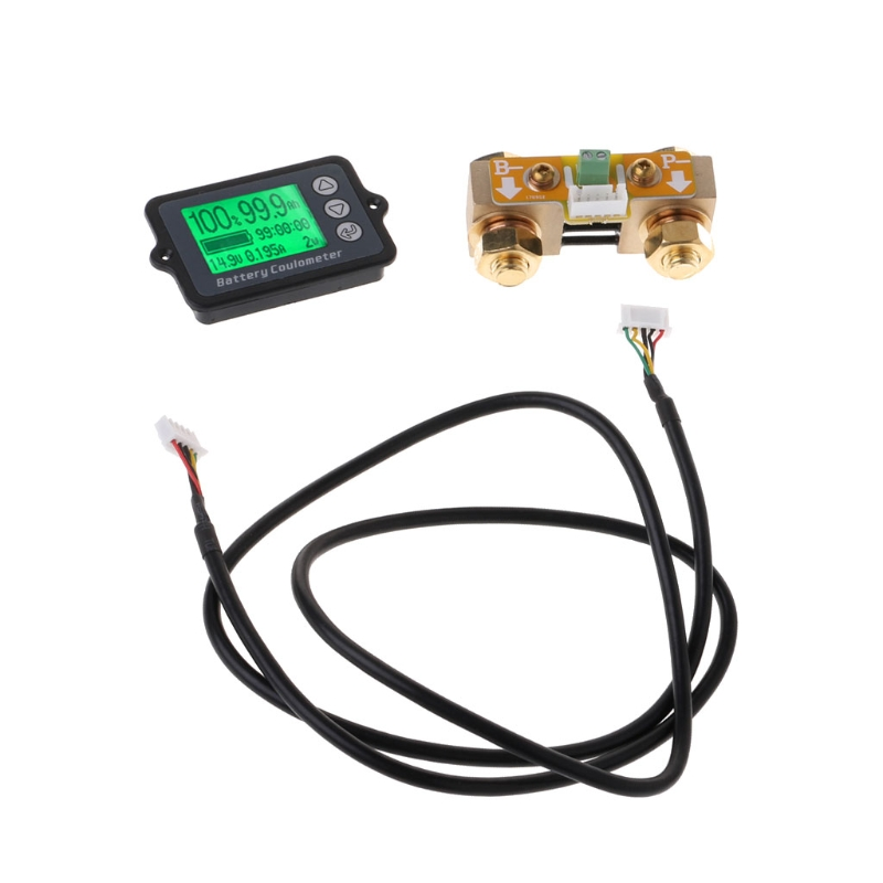 Appareil de contrôle de batterie de précision de 80 V 350A TK15 pour le coulomètre d'affichage à cristaux liquides de compteur de LiFePO Coulomb W315
