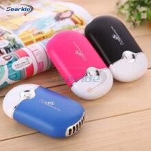 Beautiful Tragbare Mini Blattloser Ventilator Hand Schreibtisch Klimaanlage  Befeuchtung USB Wiederaufladbare Lüfter Kühler(China) Ideas