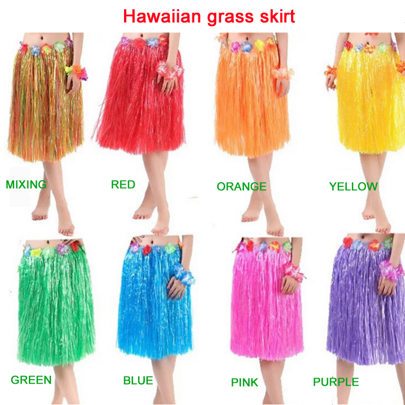 Halloween Christmas, Hawaii Hula Dance Costume, Hawaii adult Hula Skirt 80cm