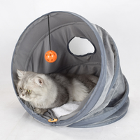 Foldable Warm Cat Cave House Pet Bed Pet Dog House Soft Pet Dog Cushion Cat Bed House Winter Padded Cat Bed Mat House Kennel New