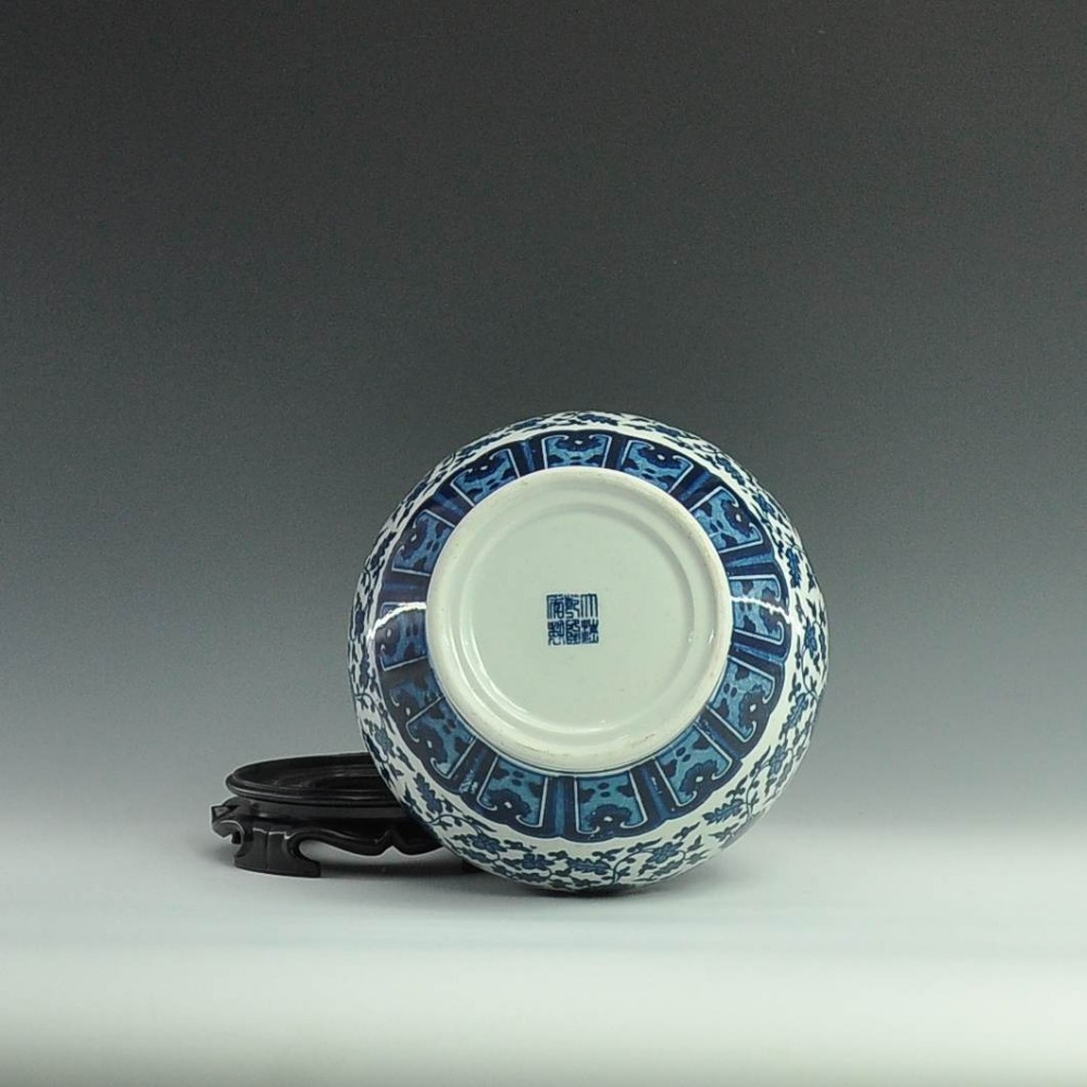 Chinese antique porcelain blue and white ceramic vase with qing chinese antique porcelain blue and white ceramic vase with qing qianlong mark in vases from home garden on aliexpress alibaba group reviewsmspy
