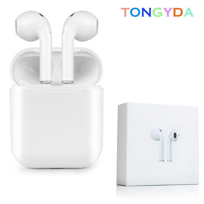 <font><b>I8</b></font> <font><b>TWS</b></font> Mini Wireless Bluetooth <font><b>Earphone</b></font> Stereo Earbud Bluetooth Headset With Charging Box Mic For Iphone Xiaomi All Smart Phone image