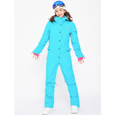 Синий волшебный зимний сноуборд kombez лыжная куртка и брюки лыжные костюмы женский комбинезон женский сноуборд водонепроницаемый комбинезон Россия - Цвет: NEW BLUE