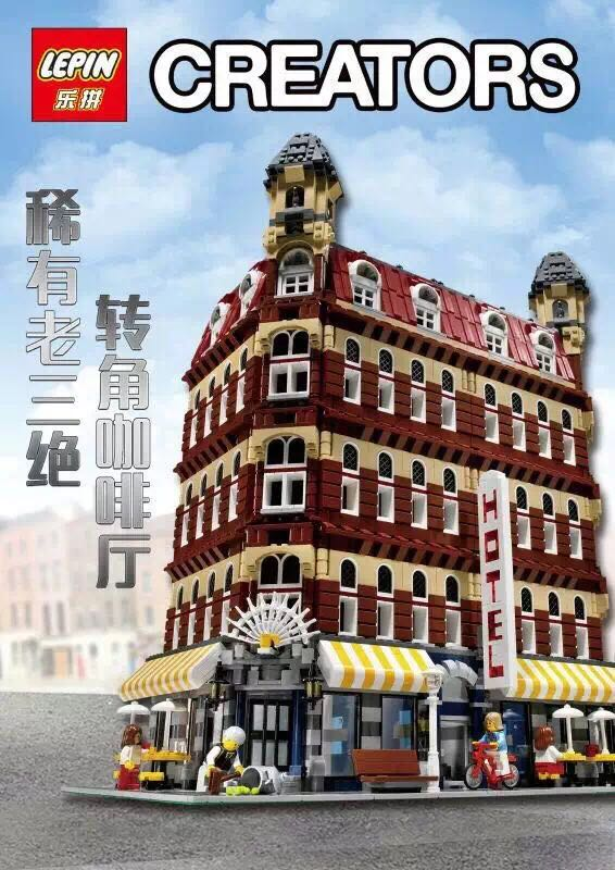 In-Stock 2017 New 2133Pcs LEPIN 15002 Cafe Corner Model Building Kits Blocks Kid Gift Compatible With 10182 Educational Toys new lepin 22001 in stock pirate ship imperial warships model building kits block briks toys gift 1717pcs compatible legoed 10210