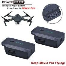 2 Pcs 3830 mAh DJI Mavic Pro Cerdas Baterai Penerbangan dirancang khusus, untuk mavic pro drone