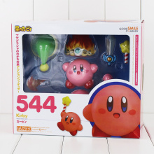 Cute Dream Land Kirby Nendoroid 544 PVC Action Figure Collection Model Kids