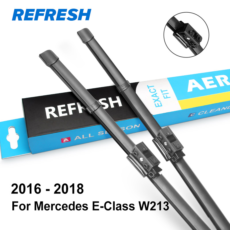 REFRESH Щетки стеклоочистителя для Mercedes Benz E Класс W211 W212 W213 E200 E250 E270 E280 E300 E320 E350 E400 E420 E450 E500 CDI 4Matic - Цвет: 2016 - 2018 ( W213 )