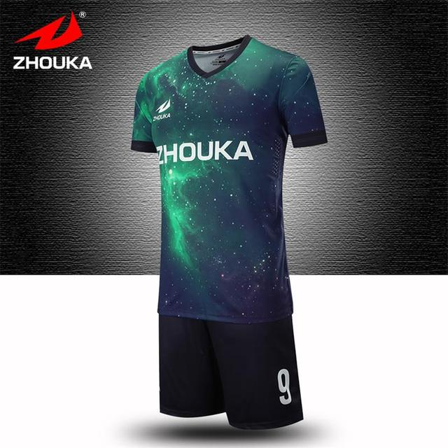 Custom soccer team jersey print any pattern color name with football jersey  sreversible soccer tailandia camisetas de fubol-in Soccer Jerseys from  Sports ... a03d9a3d1